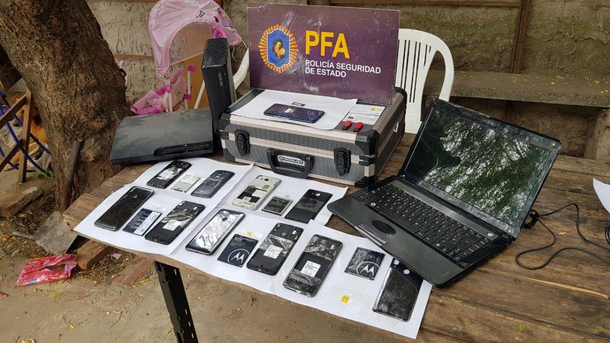 En los 112 allanamientos se secuestró gran cantidad de material de prueba de la red de pedofilia.