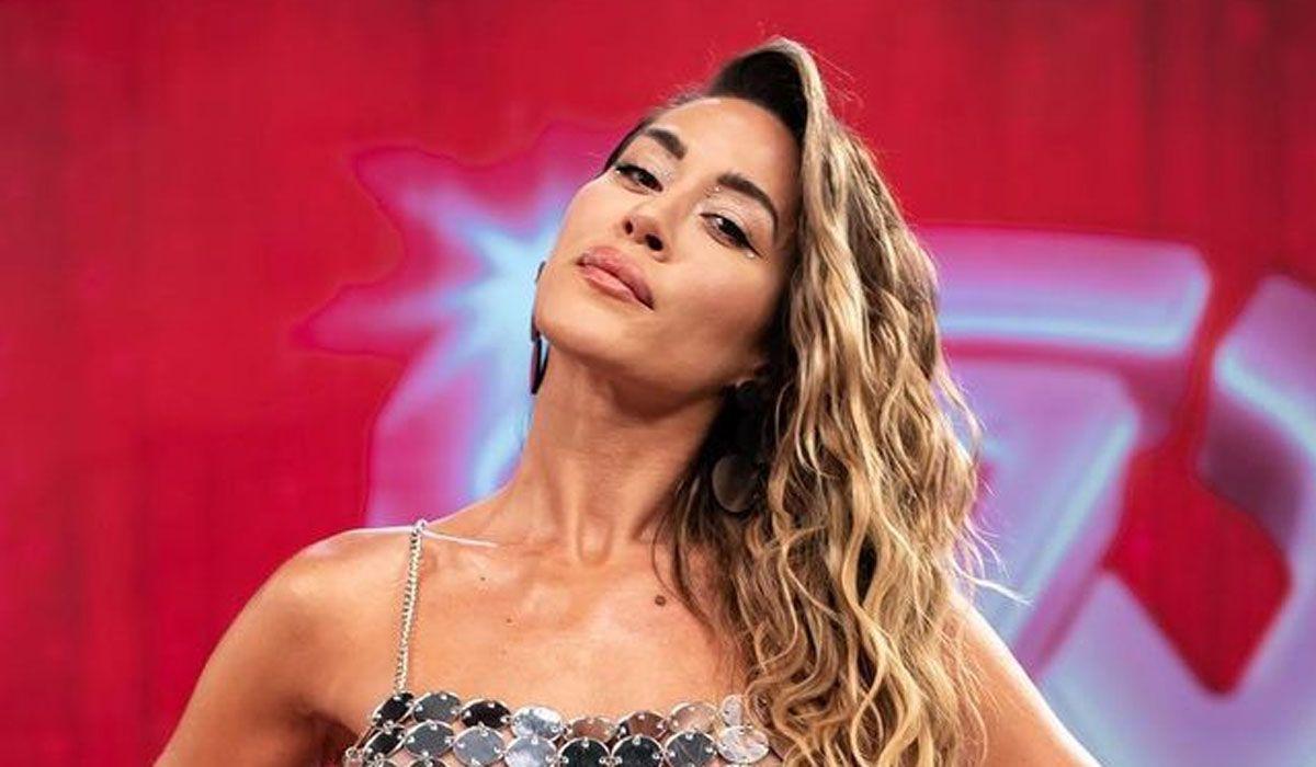 Jimena Barón mostró su underboob y a Tinelli se le salieron los ojos