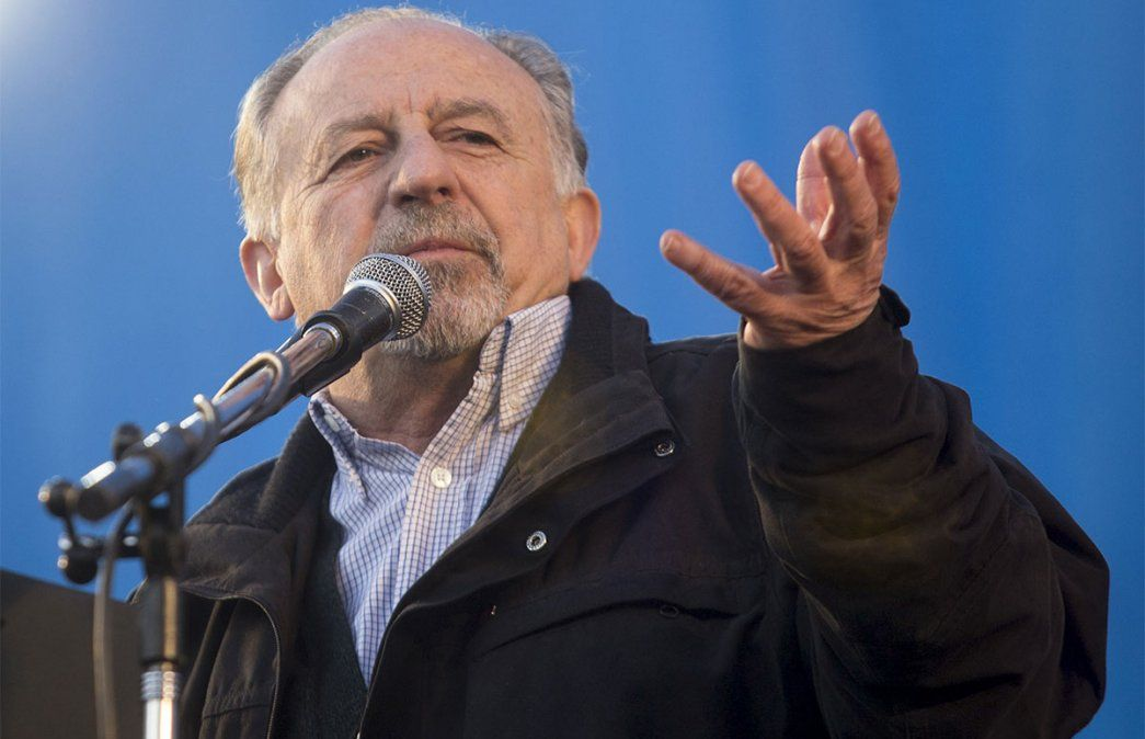 Hugo Yasky criticó el reclamo de la policía bonaerense y lo tildó de sedicioso. Foto: NA.