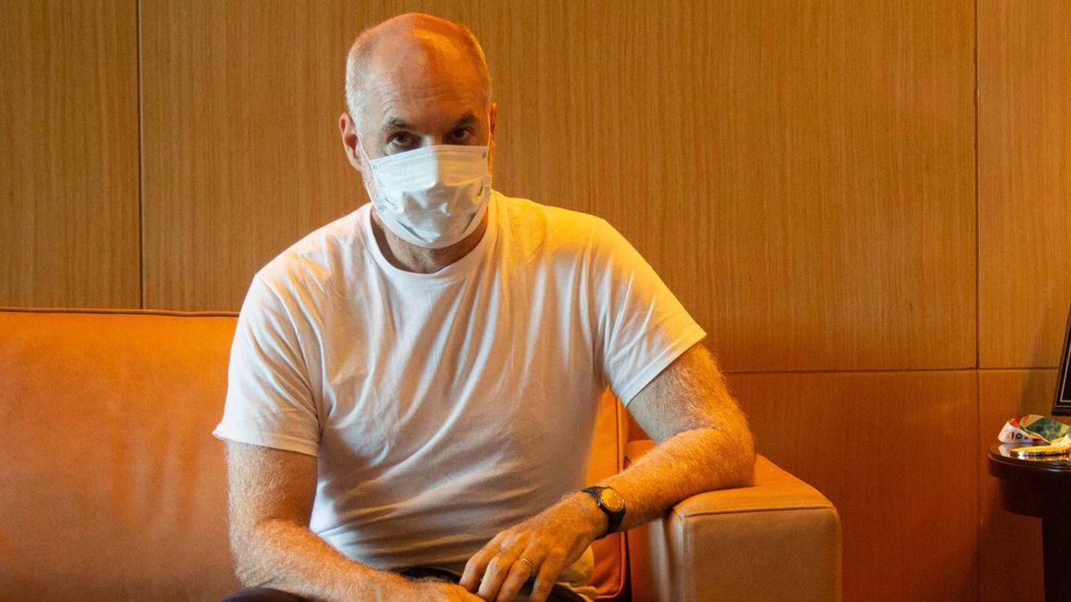 Rodríguez Larreta superó el coronavirus