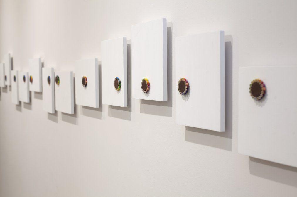 """Se trata de una nueva muestra a partir de la exposición individual """"Colorear sin salirse del contorno"""""""