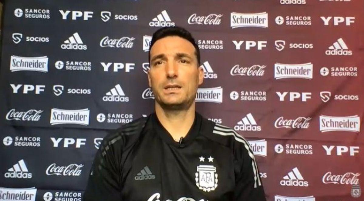 Lionel Scaloni no confirmó el equipo de la Selección Argentina para jugar con Venezuela.