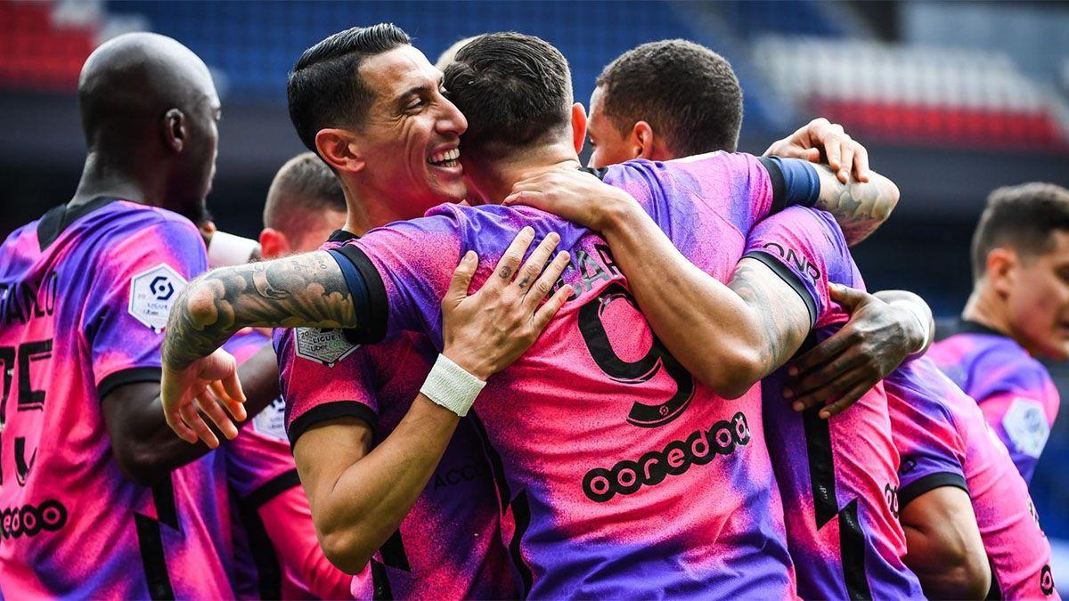 PSG ganó con un gol de Icardi y quedó a un punto del líder Lille
