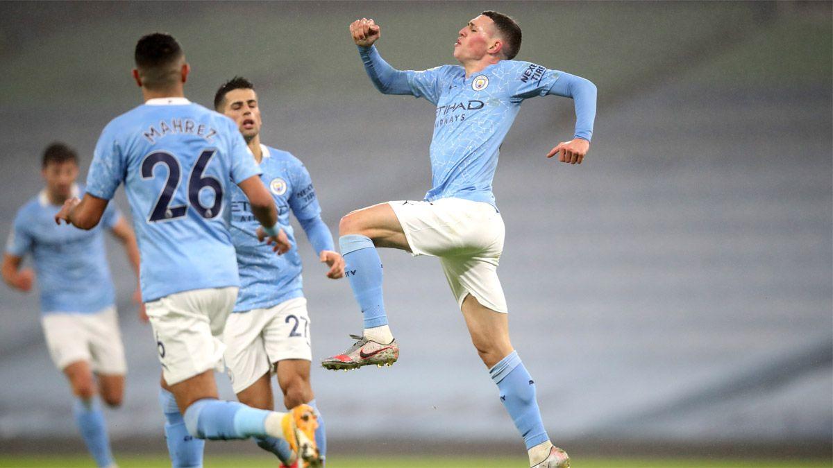 Manchester City le ganó al Brighton y se acerca a la cima