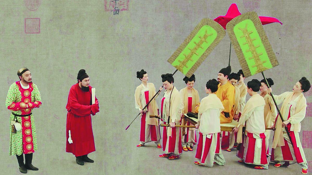 Actores y actrices recrean Bunian Tu