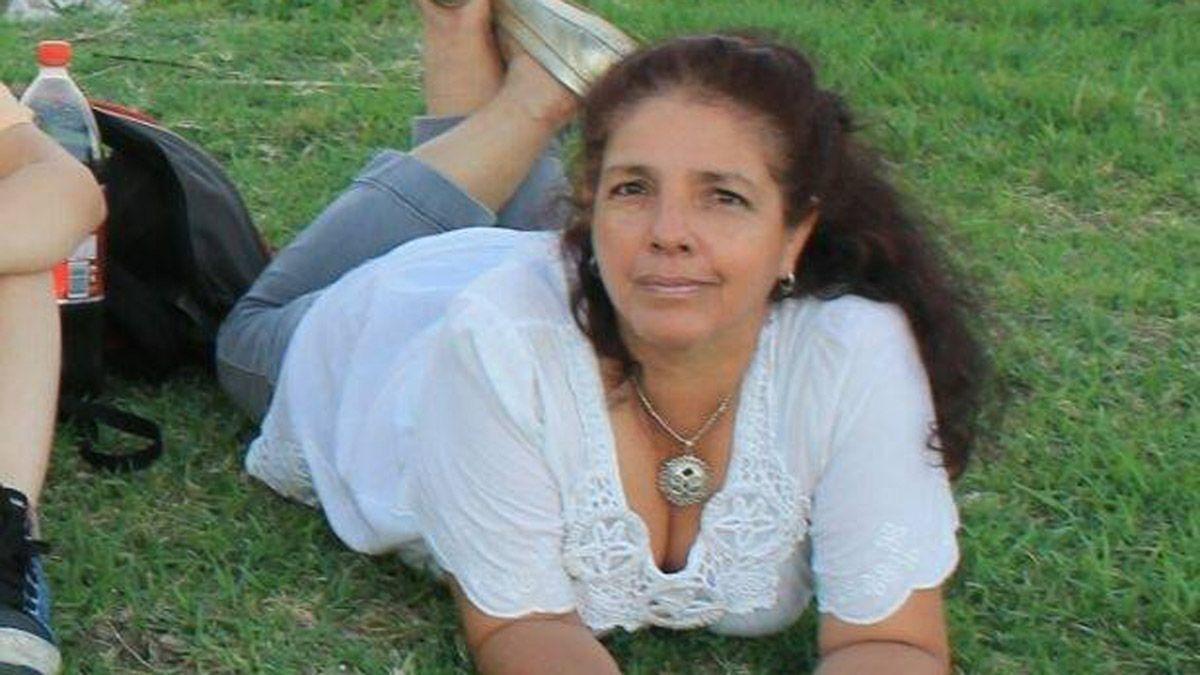 La enfermera Roxana Díaz