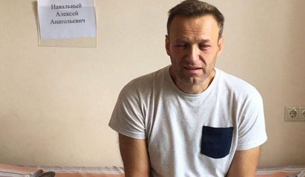 Los médicos del opositor ruso Alexei Navalny están preocupados por su salud
