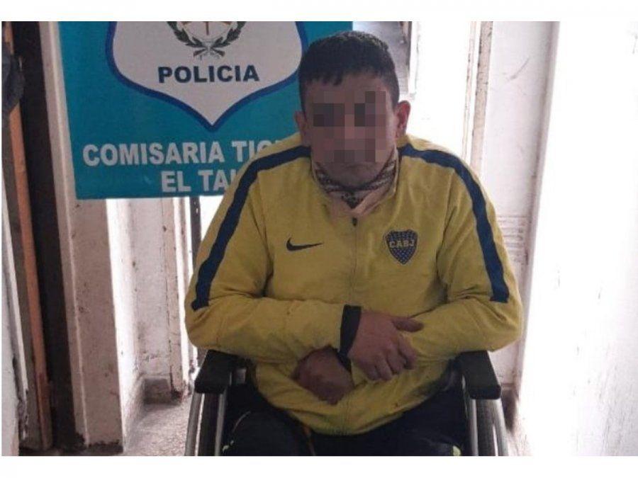 Líder narco en silla de ruedas. Un paralitico lideraba una banda narco.