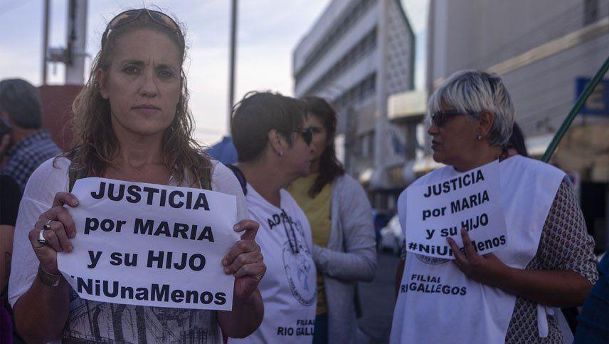Así tuvieron que informarle de la muerte de su hijo a la mujer que violaron en Puerto Deseado