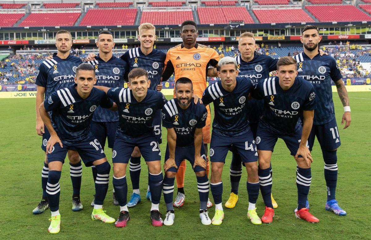 Valentín Castellanos y el New York City FC están cuartos en la MLS.