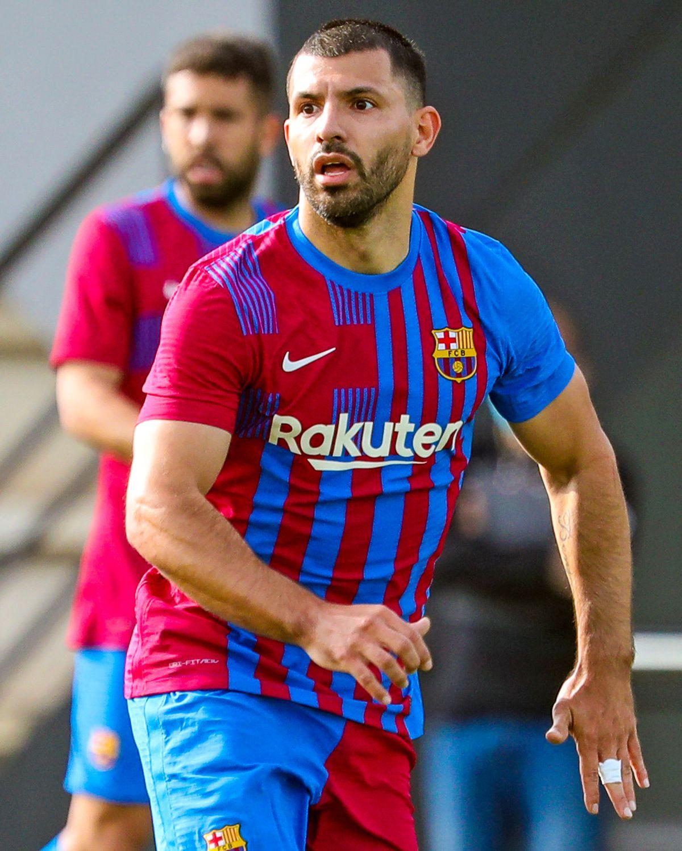 El Kun Agüero debutaría este fin de semana en el Barcelona, sin Lionel Messi