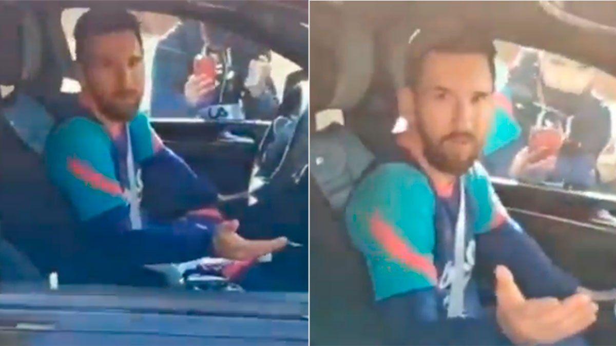 Messi, enojado: ¿Para qué quieren siempre el mismo video?
