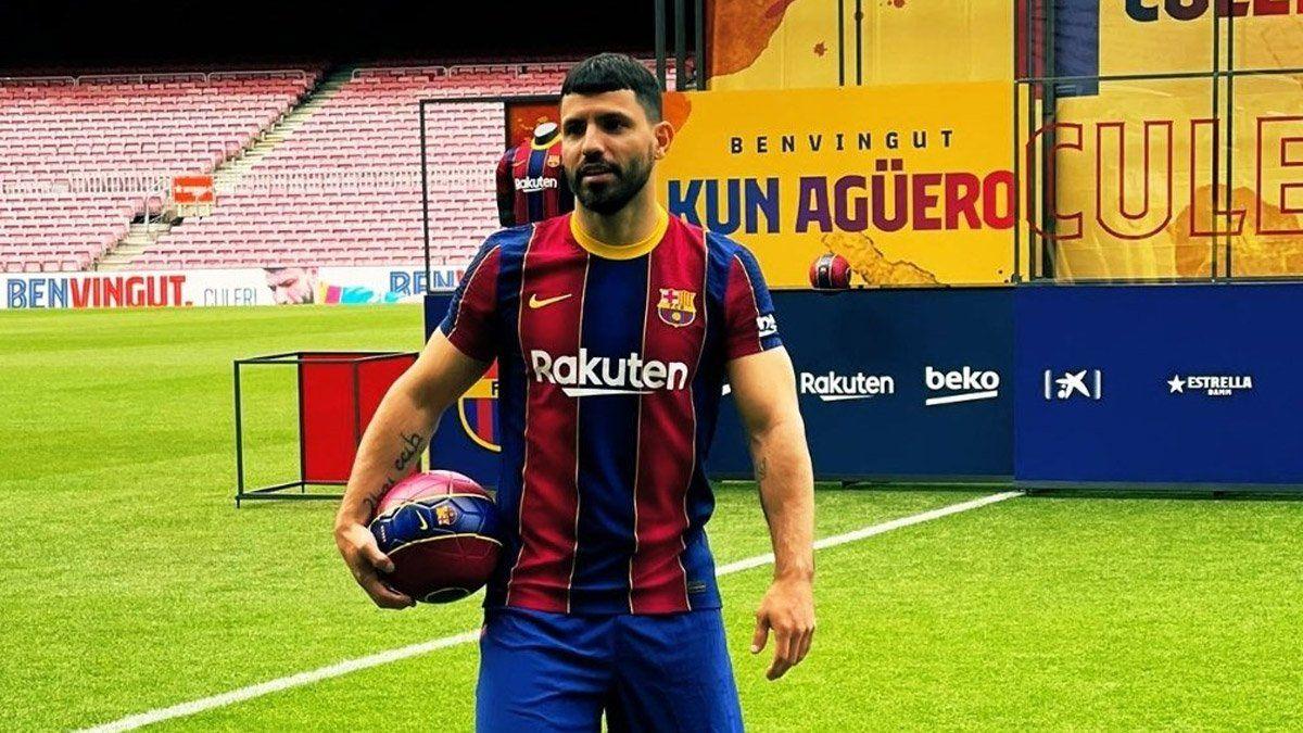 Kun Agüero: El Barcelona es el mejor equipo del mundo