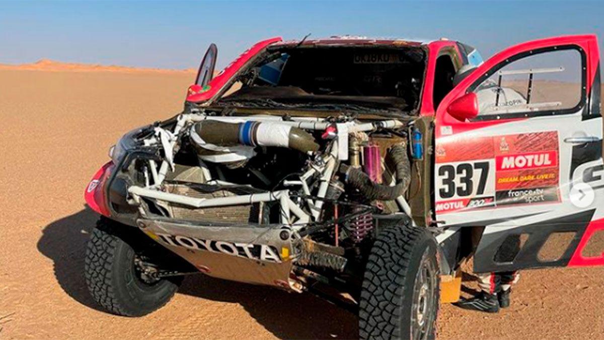 Juan Cruz Yacopini confirmó que se reenganchará al Dakar