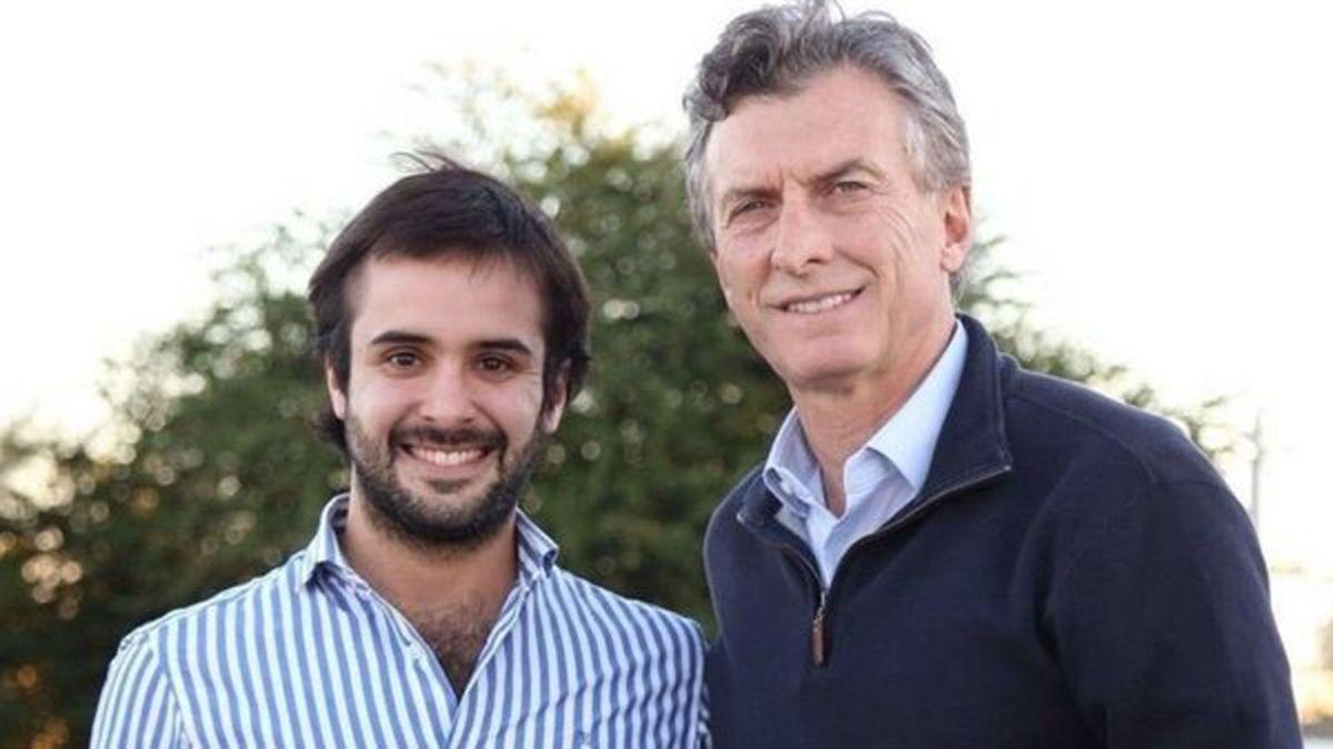 El diputado del Pro junto a Mauricio Macri.