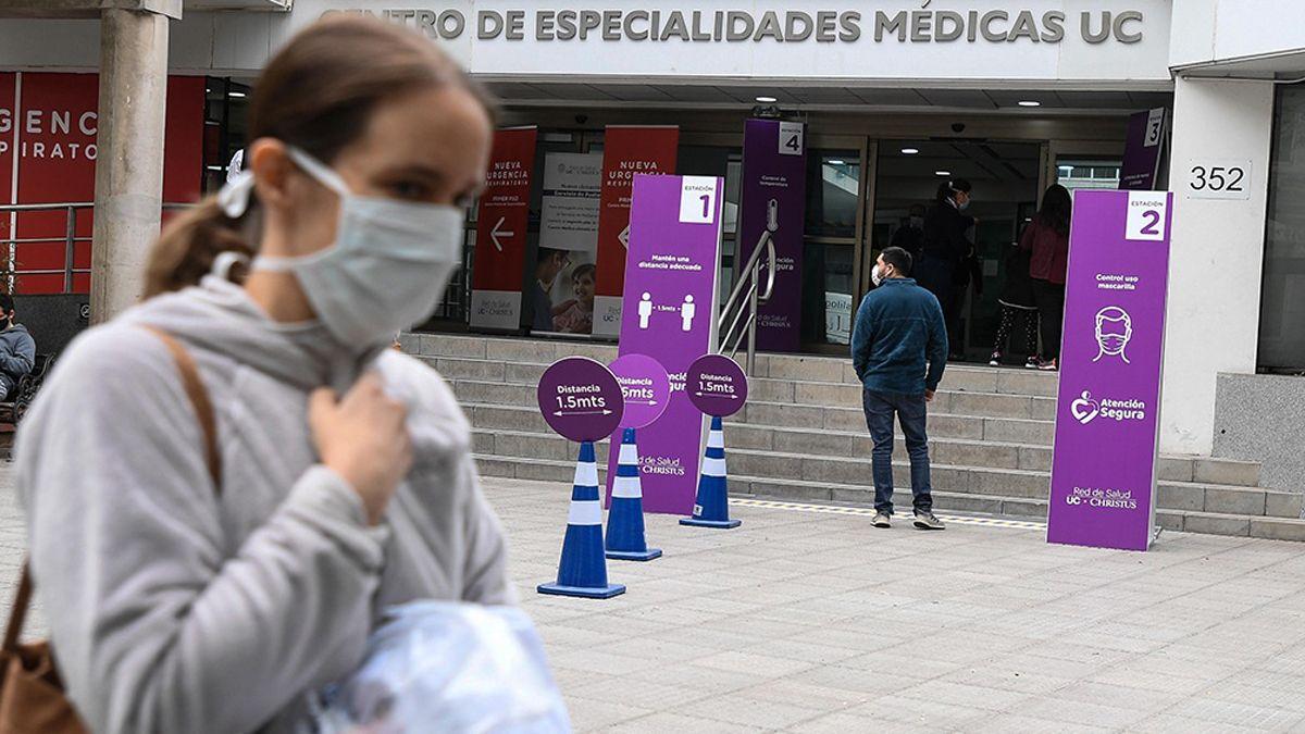 Santiago de Chile sufre una nueva ola de coronavirus.