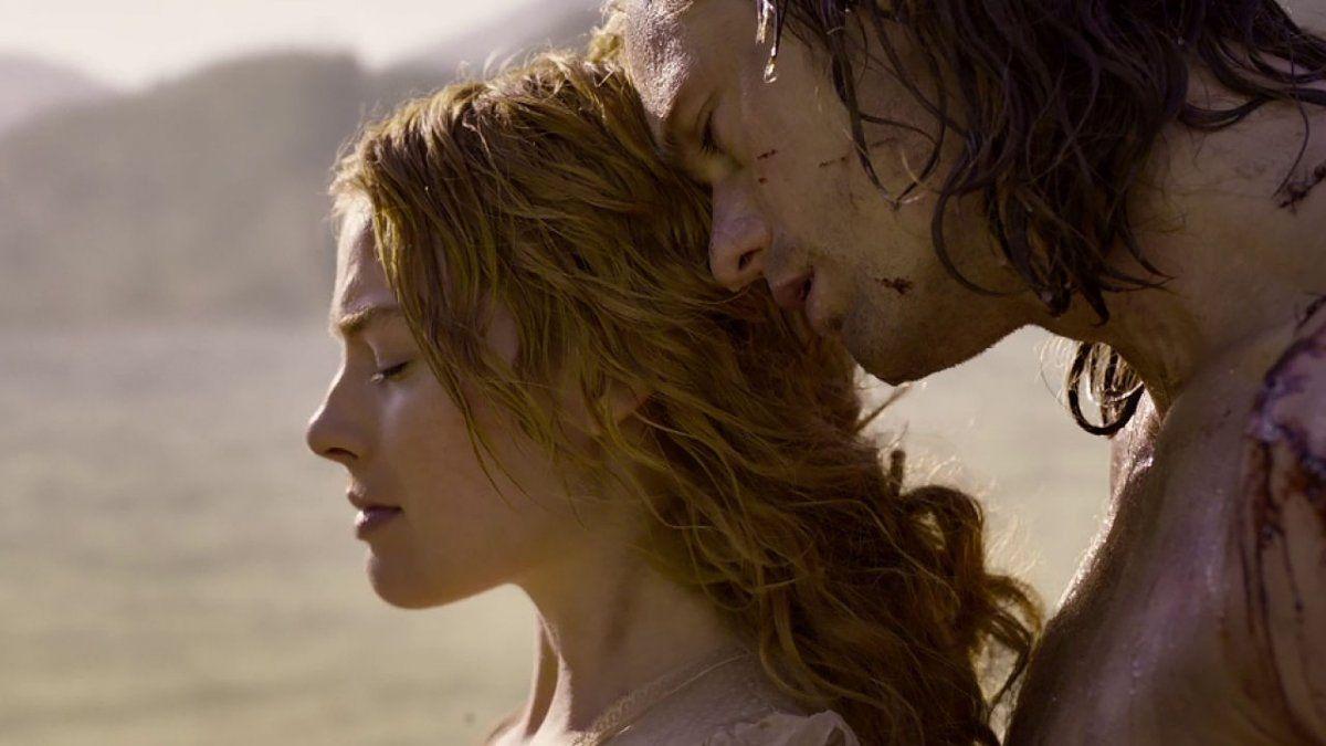 Margot Robbie y Alexander Skarsgard protagonizaron Tarzán.