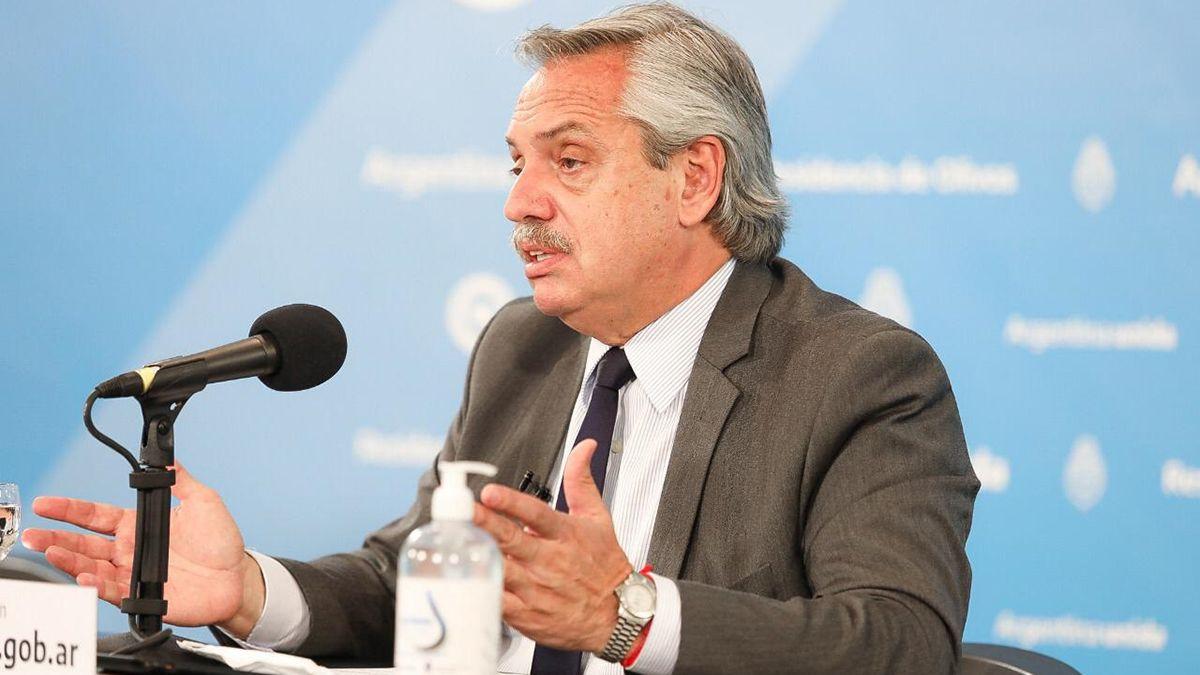 Alberto Fernández anuncia la vacuna rusa para Argentina