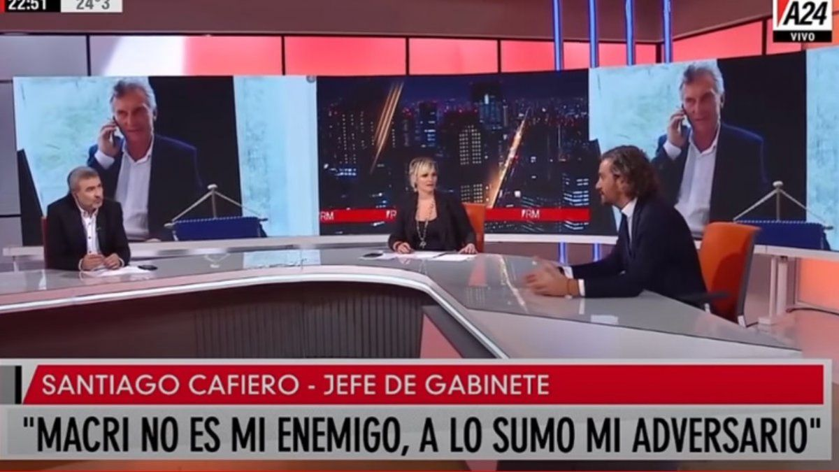 Santiago Cafiero en A24