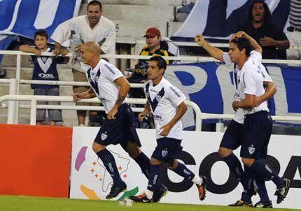 Velez comenzó muy bien la Libertadores: le ganó 2 a 0 al Cruzeiro