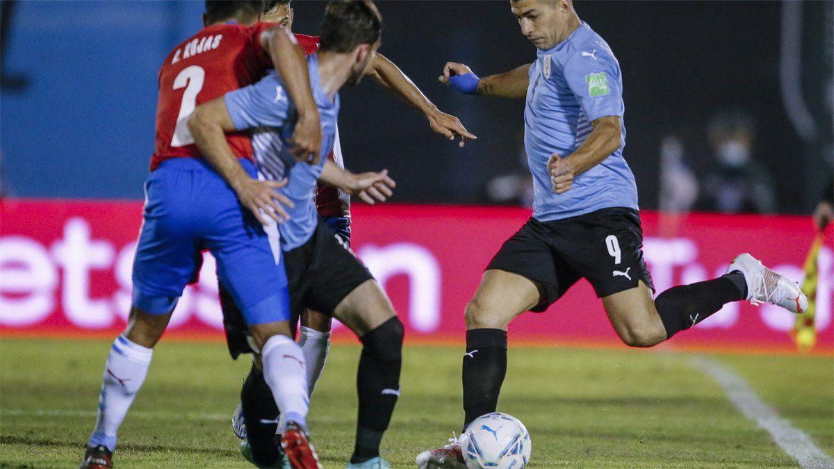 Uruguay y Paraguay quedaron a mano en el Centenario