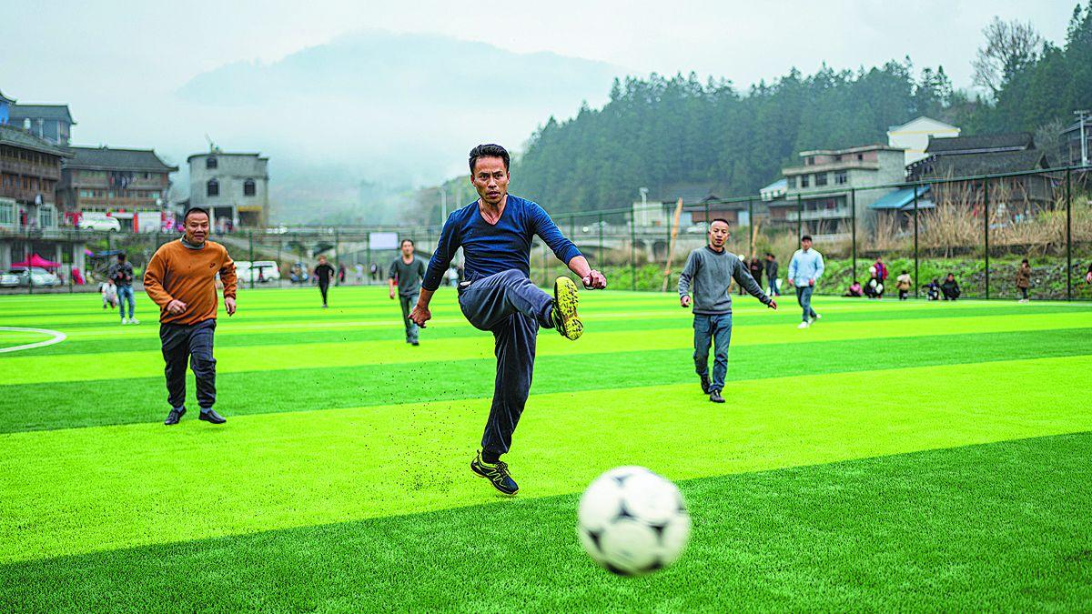 Resurgimiento rural con la ayuda del fútbol
