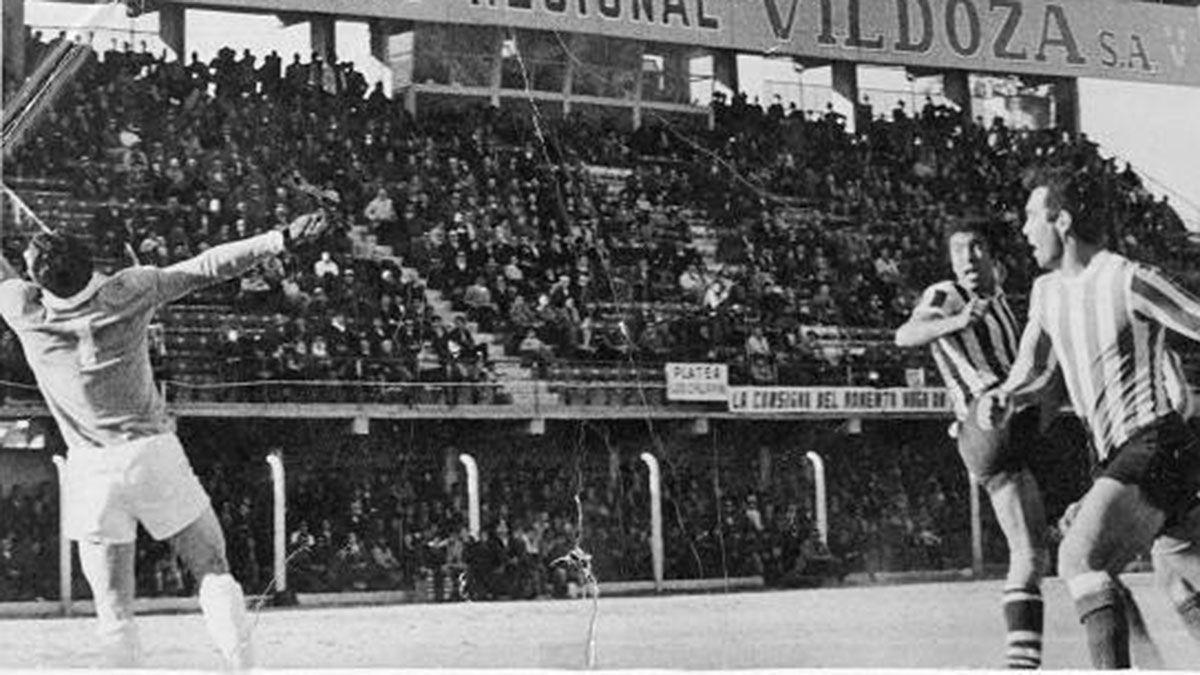 Aceituno y el gol que le marcó a San Martín