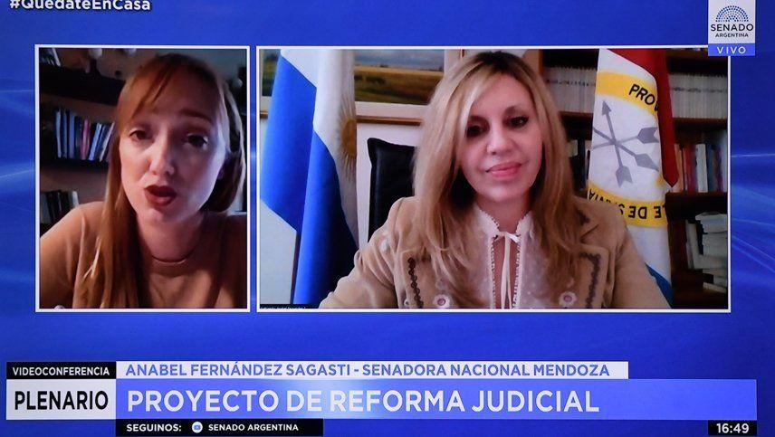 Con cambios pero sin apoyo opositor el oficialismo avanzó con la Reforma Judicial