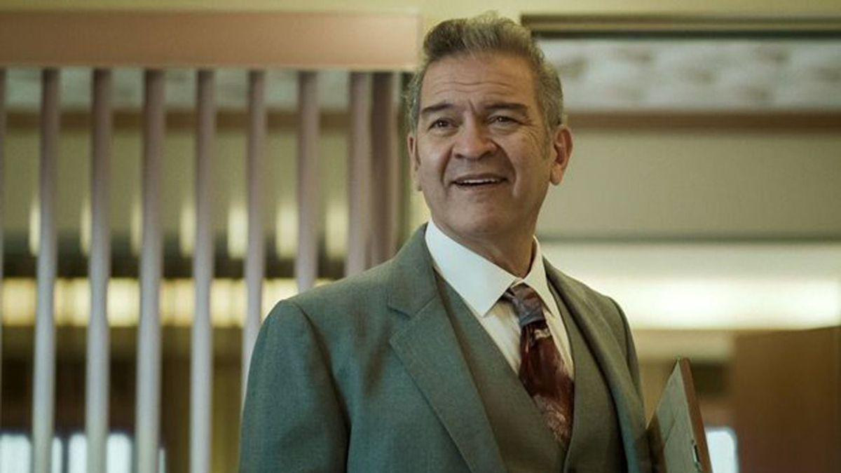 César Bordón en el papel de Hugo López