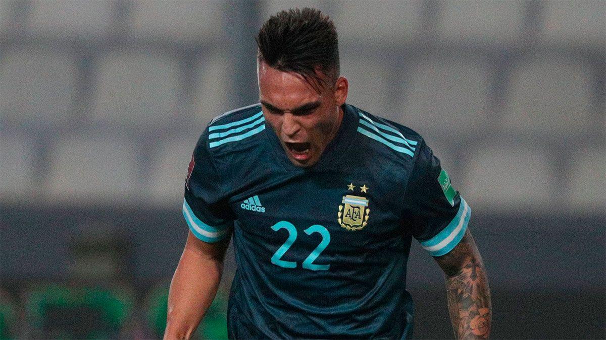 Lautaro Martínez se sacó toda la bronca contenida