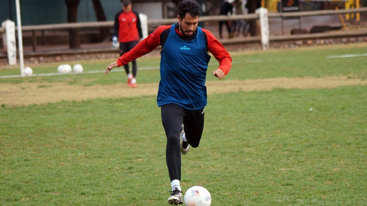 Ezequiel Bonacorso uno de los líderes del Deportivo Maipú.