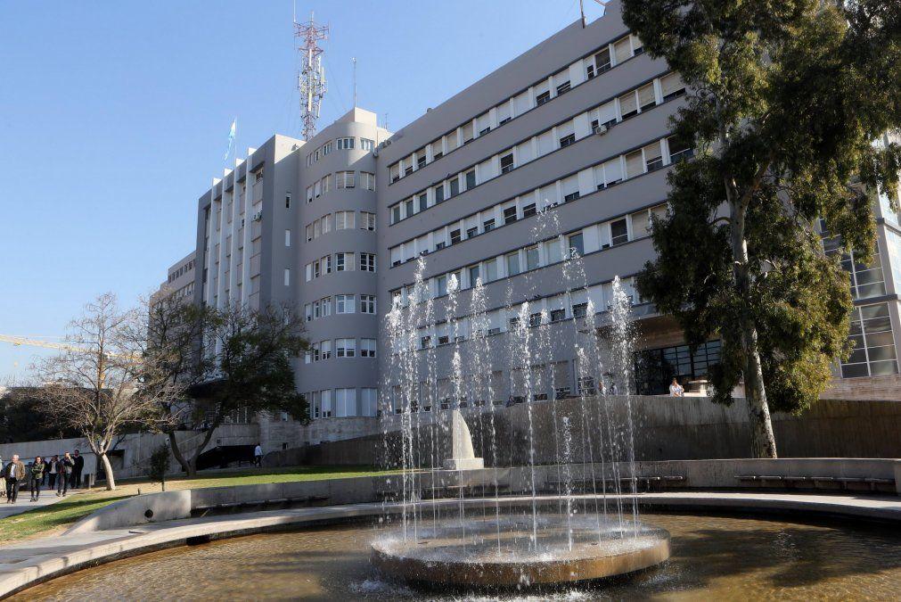 Hospital Central de Mendoza.