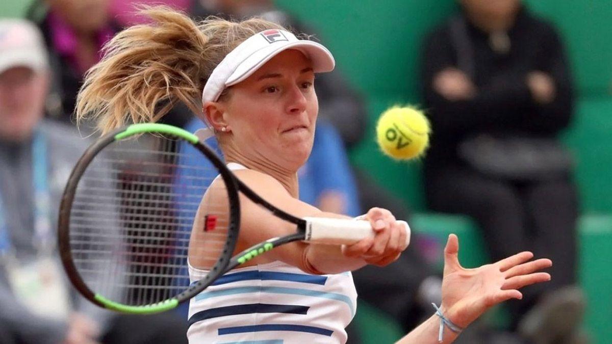 Podoroska quedó eliminada en el torneo de Praga