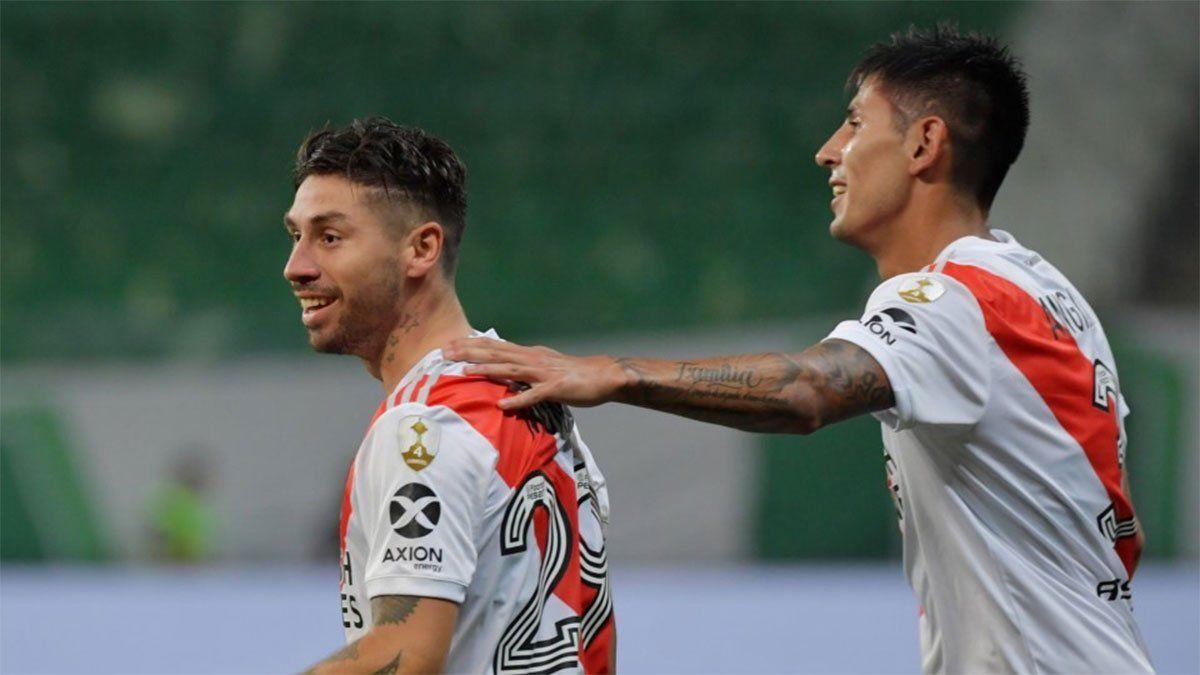 River: Angileri y Montiel apuntan a volver ante Arsenal