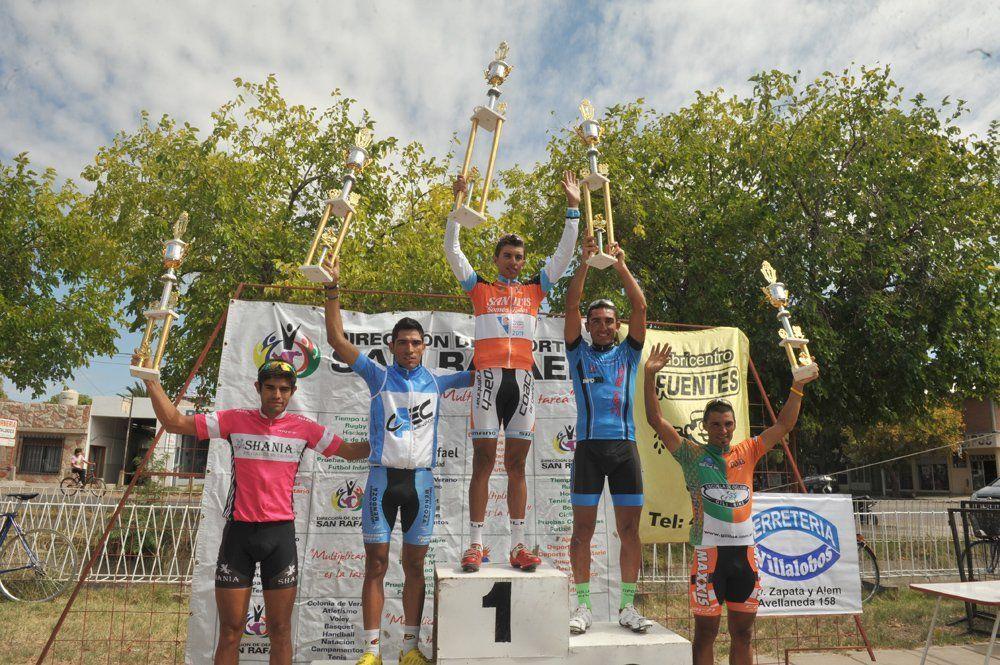 Sergio Godoy ganó la Vuelta de San Rafael