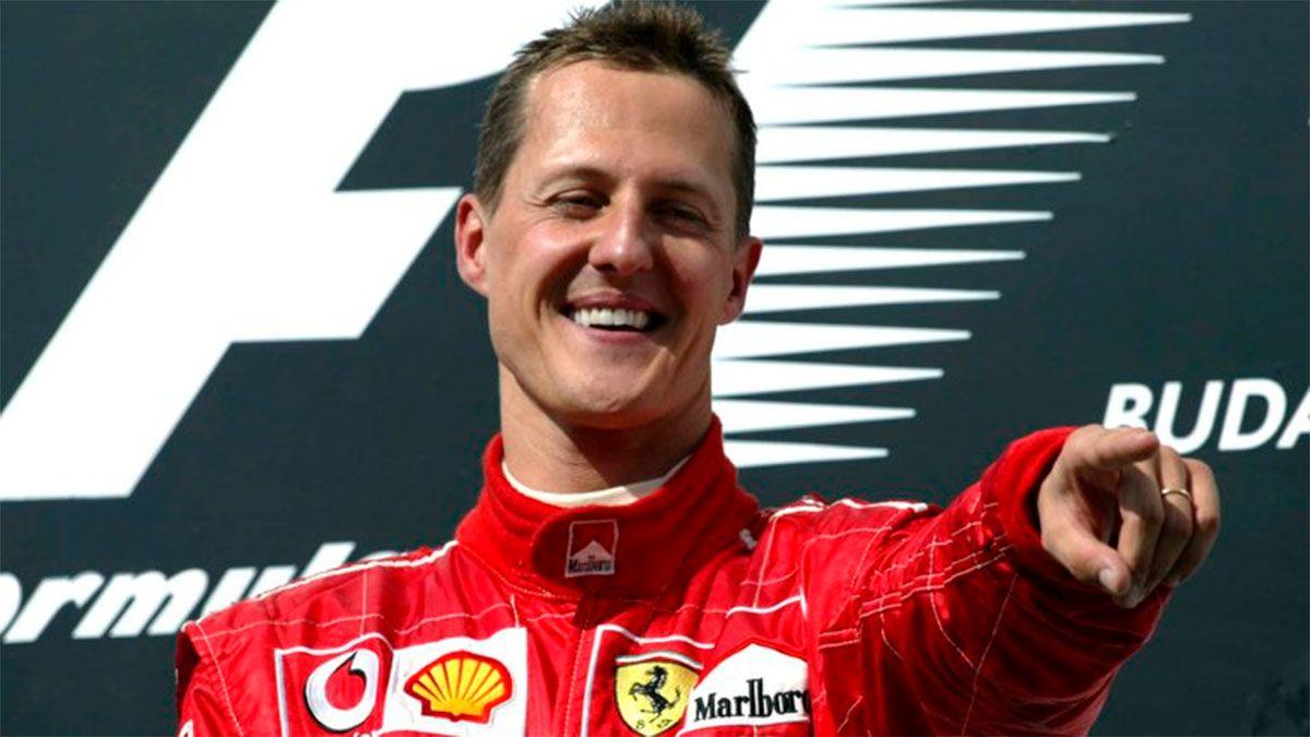 La familia de Schumacher acordó mostrar imágenes inéditas