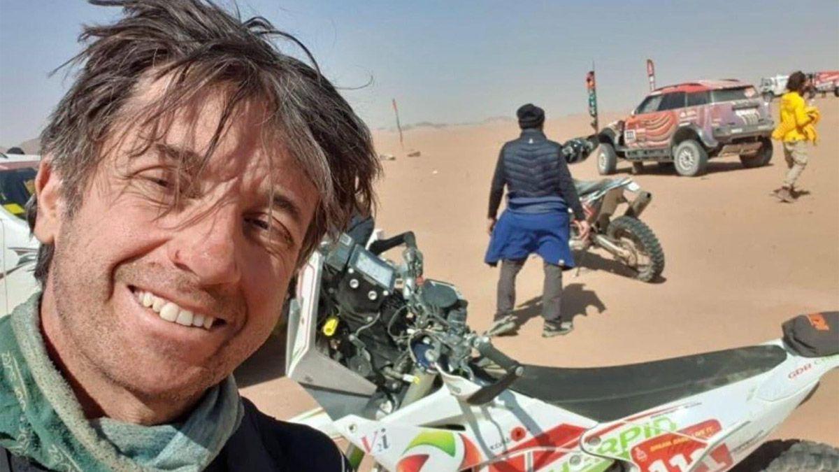 Quién era Cherpin, el francés que murió en el Rally Dakar