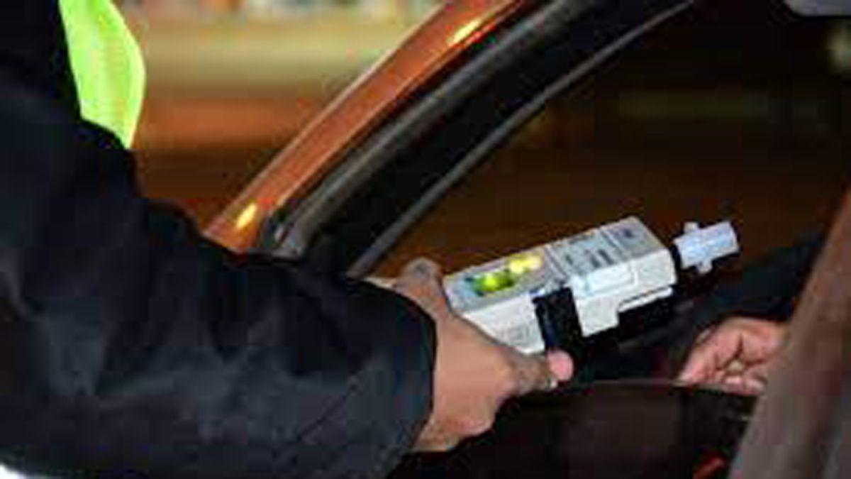 Control de alcohol al volante.