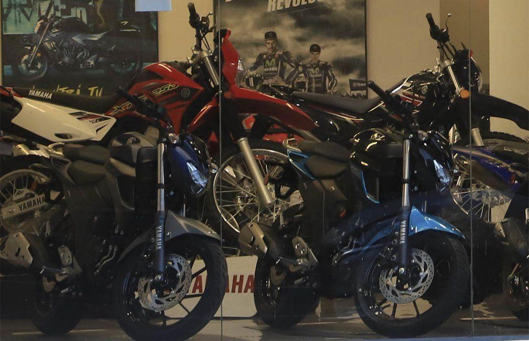 Concesionarios celebraron la nueva línea de créditos para motos. Foto ilustrativa: NA.