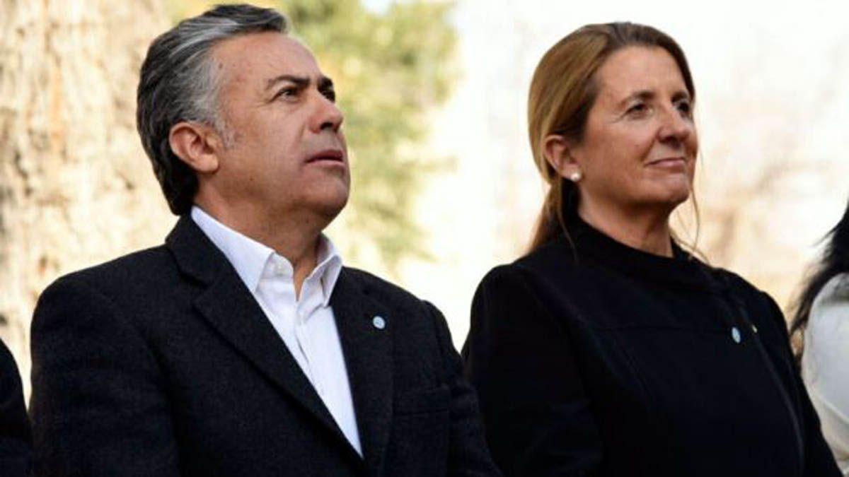 Alfredo Cornejo y Claudia Najul