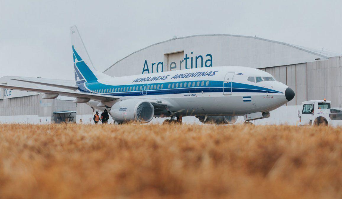 Hasta el 9 de abril Aerolíneas no volará a Chile, Brasil y México