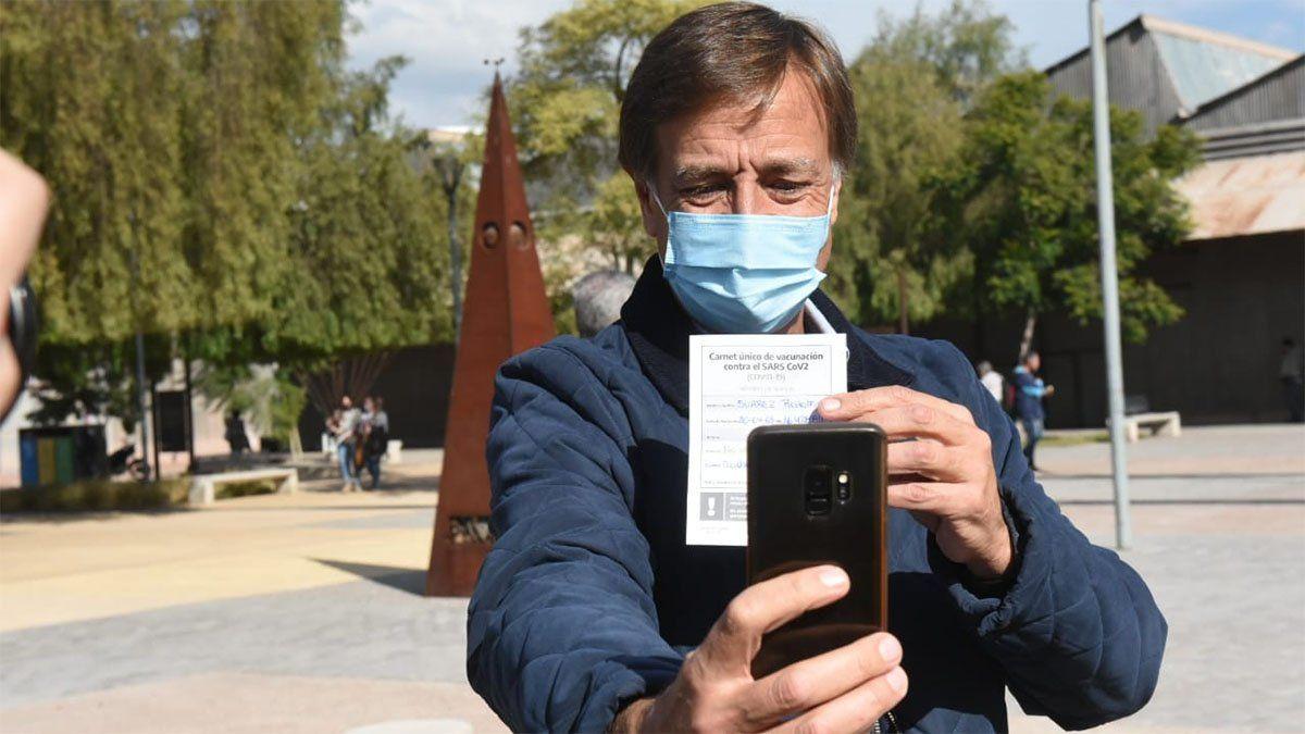 Rodolfo Suarez dijo que saldrán a buscar a aquellas personas que aún no fueron vacunadas