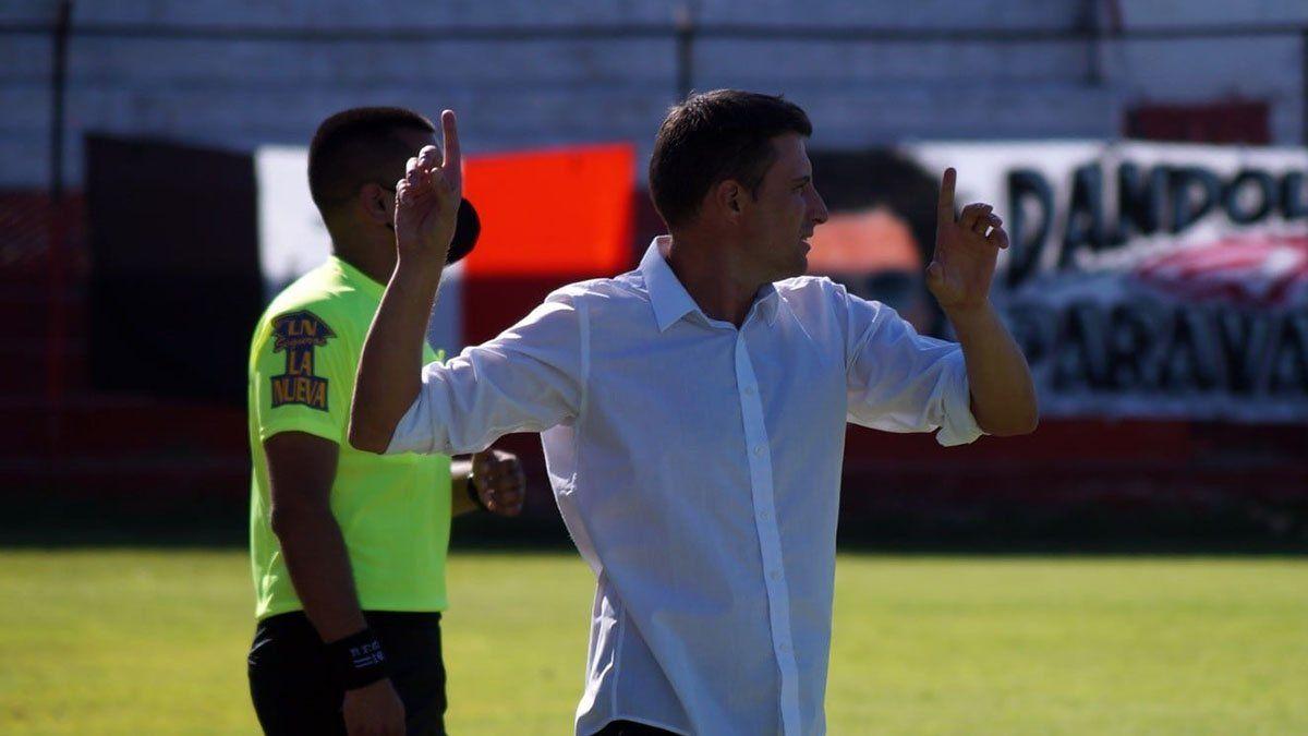 Luciano Theiler destacó el esfuerzo de sus jugadores.