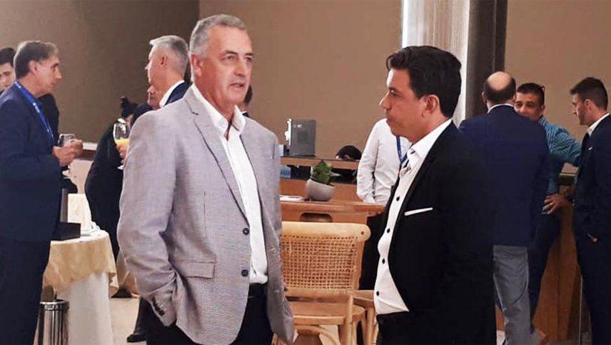 Cumbre en Paraguay: Alfaro y Gallardo juntos en la reunión de Conmebol