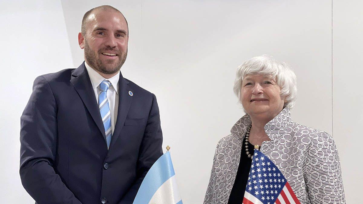 El ministro de Economía, Martín Guzmán, mantuvo este sábado en Venecia una reunión bilateral con la secretaria del Tesoro de los Estados Unidos, Janet Yellen.