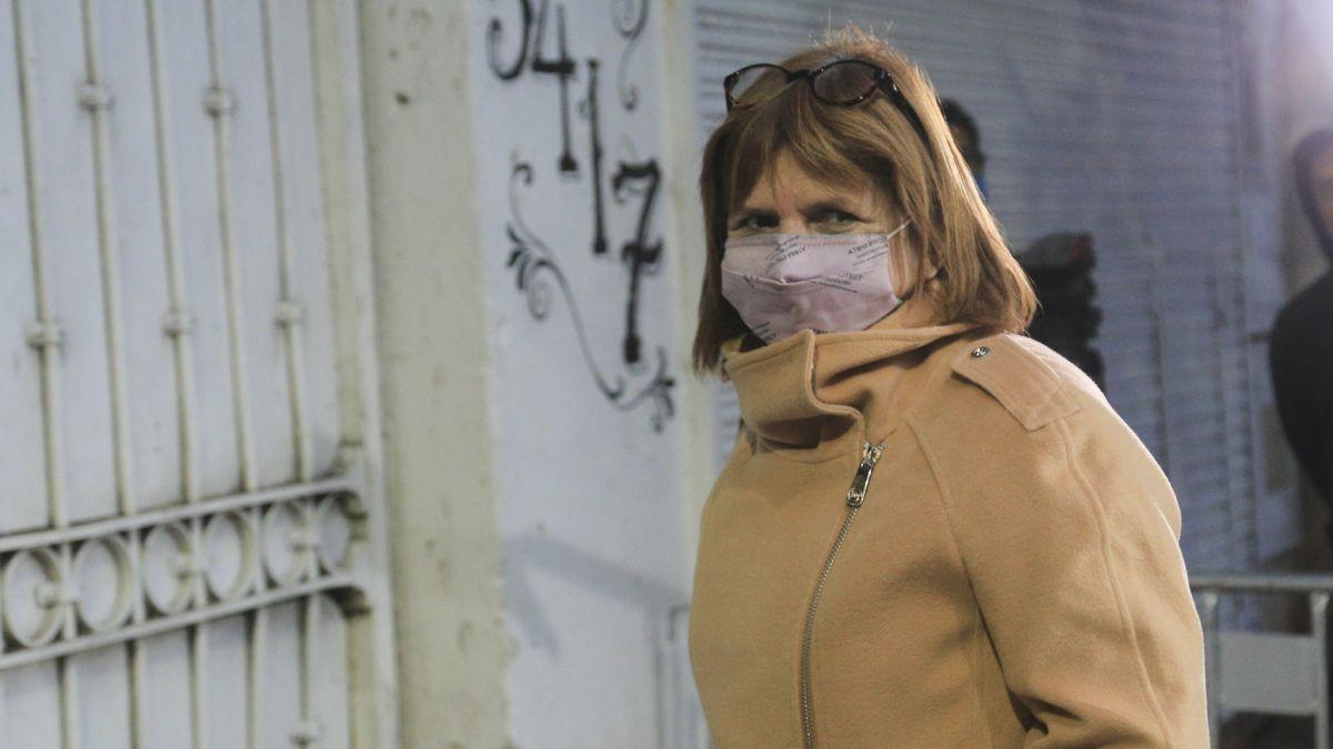 La presidenta del PRO Patricia Bullrich reconoció el envío de 70 mil cartuchos a Bolivia.