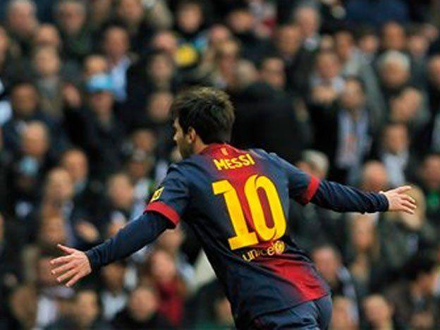 Messi igualó la marca de Di Stéfano en clásicos españoles