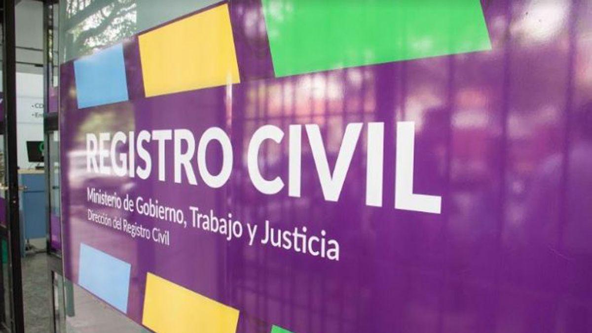 Oficinas del Registro Civil de Mendoza.