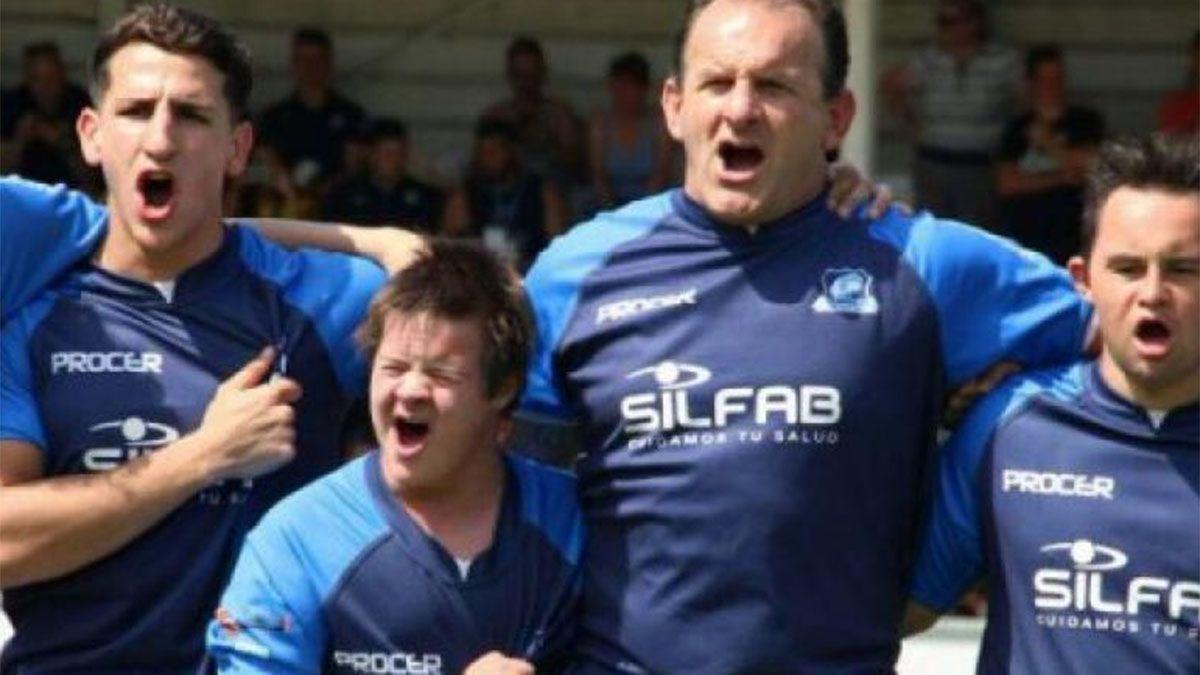 Los Pumpas son un ejemplo del rugby inclusivo.