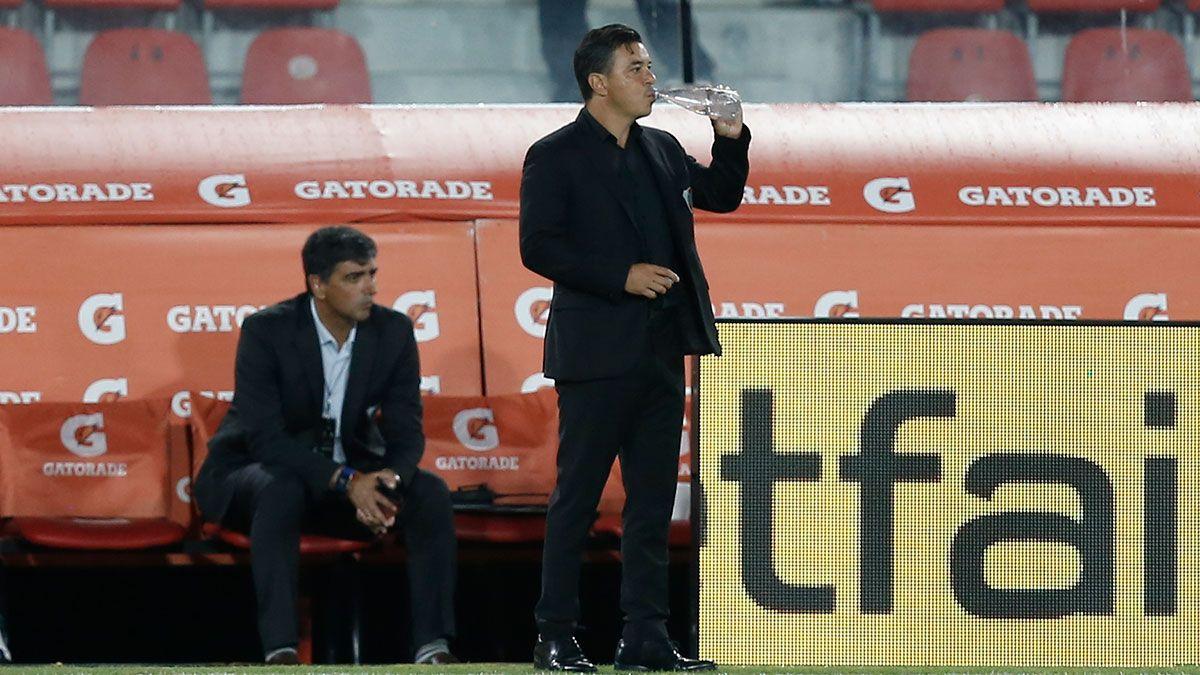 Marcelo Gallardo aseguró que lo primero que tienen que hacer es digerir la derrota. (AGRA).